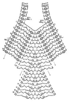 Blusa o remera tejida a crochet con patron. Tienes con esto la posibilidad de trabajar unablusa interesante. Su punto de ganchillo es simple de hacer y el resultado final es excelente! El patron: