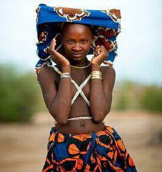 Mucubal woman, Angola
