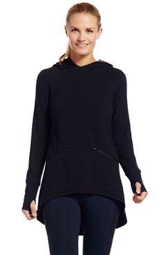 willa hoodie tunic