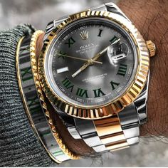 """5,579 Likes, 33 Comments - ROLEX WATCHES (@rolex.watches) on Instagram: """"Bracelet and DateJust II combo from @crmjewelers"""""""