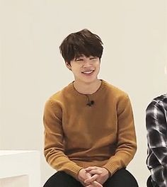 jimin being adorable in gayo track 8 ( ;´Д`)