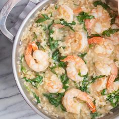 In Italy, risotto is almost just as popular as pasta - and Giada has two great cooking tips for making the perfect plate of it. Giada De Laurentiis, Shrimp Risotto, Shrimp Recipes, Rice Recipes, Yummy Recipes, Yummy Food, Pasta, Cooking Recipes, Risotto