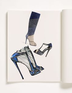 #RogerVivier Suede #Prismick Boots and T-Bar FW1213