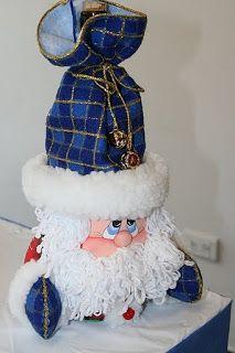 Quisieramos ayudarles en la preparación para que todo en diciembre sea lindo y perfecto:   1. Va... Easy Christmas Ornaments, Christmas Bags, Christmas Deco, Diy Christmas Gifts, All Things Christmas, Simple Christmas, Handmade Christmas, Christmas Time, Santa Crafts