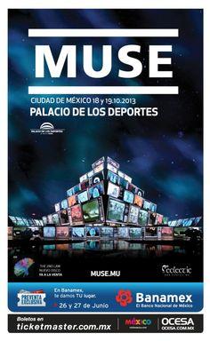 Segunda Fecha De Muse En México... 18 y 19 de Octubre