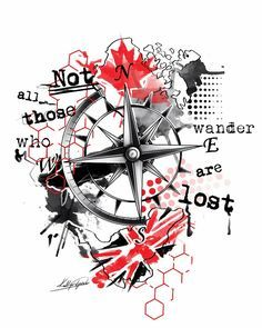 Compass trash polka