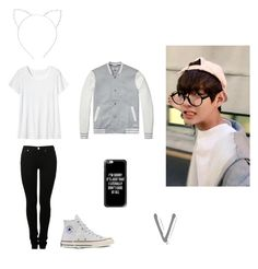 """""""V inspired outfit"""" by mollie-fagan on Polyvore featuring MM6 Maison Margiela, Toast, Converse, Cara and Casetify"""