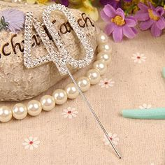 Vktech® Crystal Rhinestone Bling Silver Number 40 Birthday 40th Anniversary Cake Top Topper Vktech http://www.amazon.com/dp/B00LHDSC5O/ref=cm_sw_r_pi_dp_WoP2ub09NHAPS