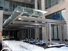 glass canopy entrance - Google Search