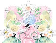 """Check out new work on my @Behance portfolio: """"Flowerbomb"""" http://on.be.net/1F8qsis"""