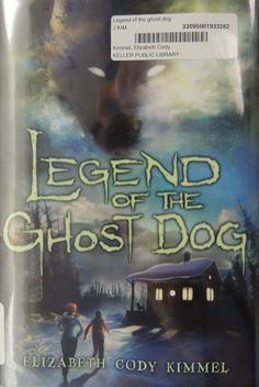 Brenda's Pick.  Legend of the Ghost Dog. By Elizabeth Kimmel. When twelve-year old Tee and her dog Henry are on a walk near their new house in Nome, Alaska, Henry spots something that has him seriously spooked. Tee sees a mysterious shadow, and it seems to be following them. Click the link below to search the Keller Public Library catalog for this print Juvenile Fiction book, http://fwl.ipac.dynixasp.com/ipac20/ipac.jsp?profile=kpl#focus. Posted 1/29/13.