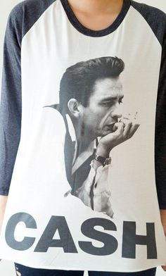 SML JOHNNY CASH Shirts Country Rock And Roll by cottonclick