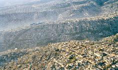 Waves of humanity Sprawling Mexico City rolls across the landscape, displacing every scrap of natural habitat