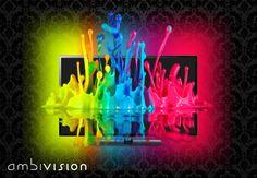 AmbiVision's effect: http://igg.me/at/ambivision