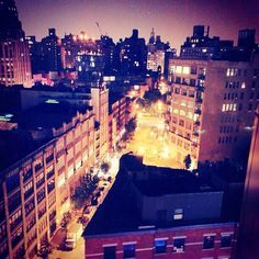 City lights. #MeatpackingDistrict #NYC