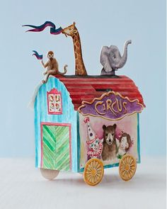 Circus Paper Crafts with Printables | Sweet Paul Magazine