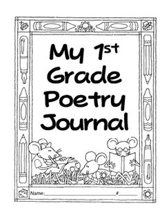 1st Grade Poems to go along with Macmillan-McGraw Hill Treasures...