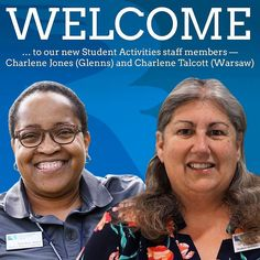 Welcome to Charlene Jones and Charlene Talcott! You will see them around campus at student events and planning future activities. Welcome to RCC! #student #students #studentlife #rappahannock #community #college #comm_college #instacollege #va #virginia #rappahannockcommunitycollege #nnk #northernneckva #northernneck #middleschool