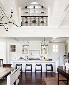 Long Kitchen White Quartz And Kitchen Islands On Pinterest