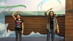 AUC Ribbon Streamer Choreography - Joy to the World/Sing Joy