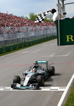 Race Winner: Lewis Hamilton at the 2015 Canadian #F1 Grand Prix