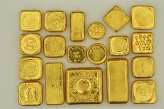 Rare, Collectable and Vintage Gold Bars. (Page / Gold Gold Bullion Bars, Bullion Coins, Silver Bullion, Today Gold Rate, Gold Reserve, Gold Prospecting, Gold Money, Black Gold Jewelry, Gold Stock