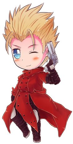 Commish - Vash the Stampede by say0ran