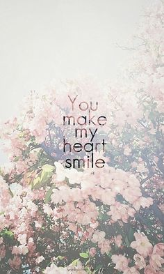 Smile with my heart.
