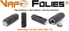 #Mod #box 50 watts avec TC #Invader #Mini #Heatvape – 41.03 €