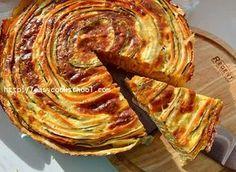Пирог с кабачками, интересный рецепт   Легкие рецепты