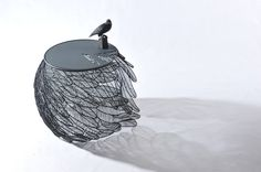 Feather Table Collection by Thai Designer Apiwat Chitapanya