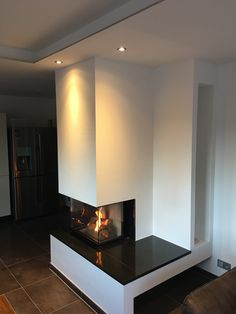 Home Theater for the Little Ones Stove Fireplace, Fireplace Design, Home Theater, Cozy Corner, Home Reno, First Home, Villa, Living Room, Piece