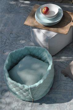 OVERSEAS - Petlife Cat Basket-Ice, Hocker Canvas-Off white, Karpet Seatle-Ice