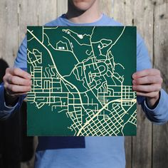 California Polytechnic State University | City Prints Map Art
