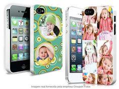 Capa personalizada para vários tipos de Smartphones, por R$ 34,90