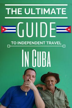 Your one stop shop for everything you need to know about travelling in Cuba! Where to eat, where to sleep, what the weather's like, budgeting, pros & cons, must-sees...it's all here :)  http://www.goatsontheroad.com/the-ultimate-guide-to-independent-travel-in-cuba/