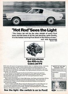 1968 Ford Mustang 2+2 Cobra Jet Advertising Road & Track May 1968   Flickr - Photo Sharing!