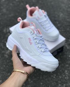 women s Lady s shoes FILA sneakers casuals women s Lady s shoes FILA sneakers casuals Cute Sneakers, Sneakers Mode, Girls Sneakers, Girls Shoes, Sneakers Workout, Pink Nike Shoes, Shoes Women, Shoes Sneakers, Sock Shoes