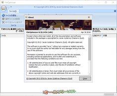 FileOptimizer 8.30.1456  FileOptimizer--About--オールフリーソフト