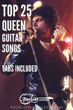 Queen is one of the most successful rock and roll bands in the world. If you are a fan and wish to learn to play some of their songs then, check out these top 25 queen guitar songs. #queen #guitar #songs