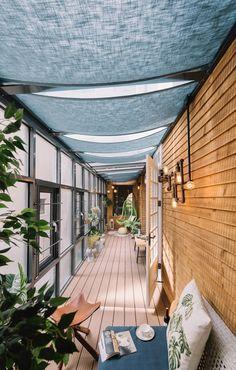 Bridge House, habitation pour la famille Wang à Taïnan par HAO Design - Journal du Design