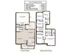 Navy Region Hawaii – Ford Island Landing Neighborhood: 5 bedroom home floor plan (other floor plans available).