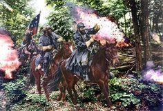 american generals in combat art prints - Bing Images