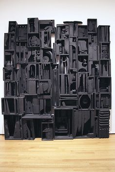 ^Sky Cathedral | Louise Nevelson, MoMA