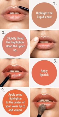 Six simple tricks that will make your lips look fuller