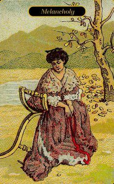 Gypsy Oracle Cards- Melancholy