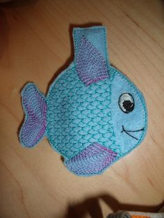 Fish Peg Cozy