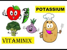 Vitaminix - Kids Learning Videos About Food & Health - Potassium #kidshealth #food #nutrition #learning