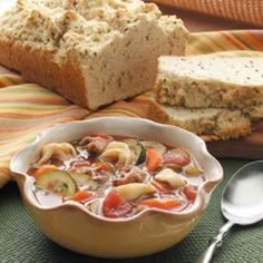 Tortellini Minestrone Meal from Taste of Home