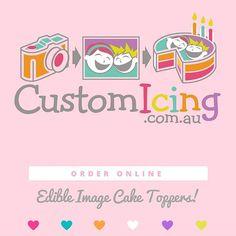 CustomIcing.com.au - Edible images made to order everyday!  #customicing #edibleimages #edibleprinting #edibleimage #icingimage #birthdaycake #cake #cakeideas #cakedecorating #caketoppers #cupcakes #cupcaketoppers #logocupcakes #ediblelogos #lmbdwhttps://www.instagram.com/p/BMkVsanl3WZ/logocupcakes,birthdaycake,cakeideas,edibleimage,customicing,lmbdw,cakedecorating,edibleimages,edibleprinting,cupcakes,ediblelogos,cake,cupcaketoppers,caketoppers,icingimage